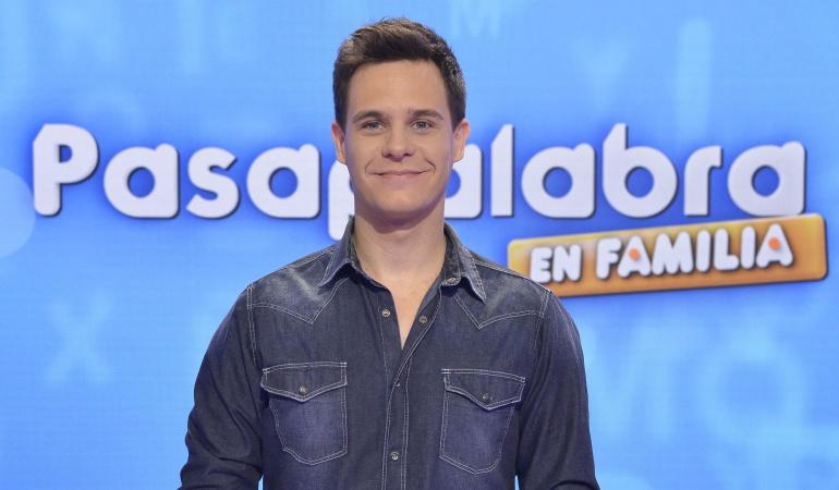 Christian Gálvez, presentador de 'Pasapalabra en familia'