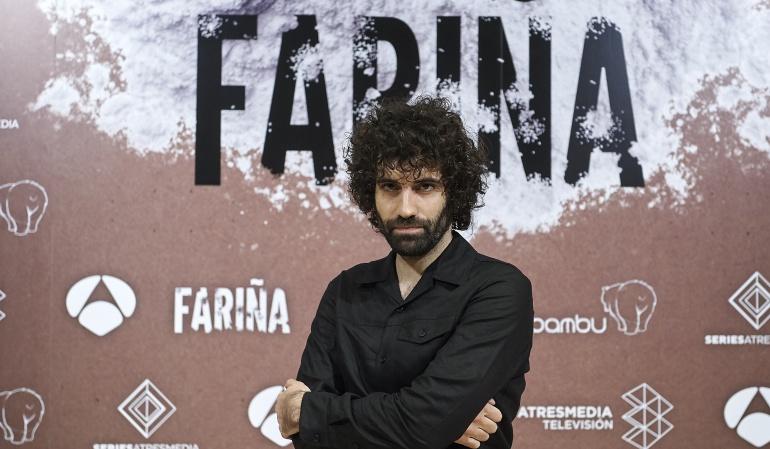 Tamar Novas, uno de los protagonistas de 'Fariña'