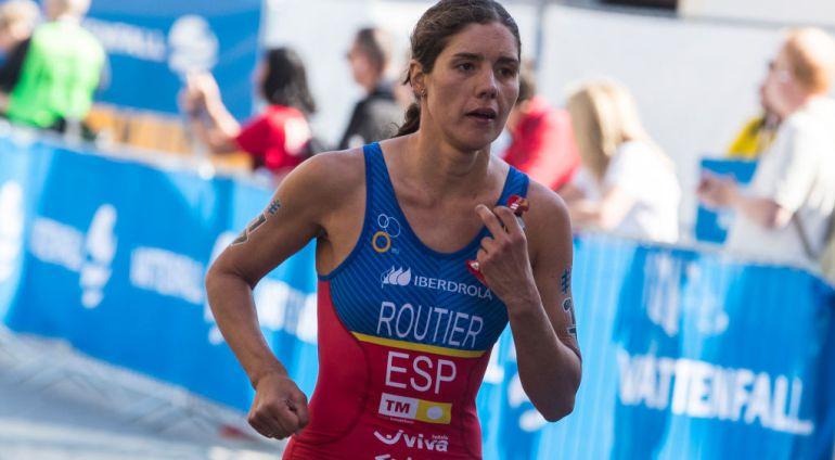 Carolina Routier, en las Series Mundiales de Estocolmo el pasado año