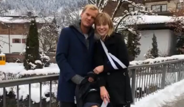 Avicii y Tereza Kacerová