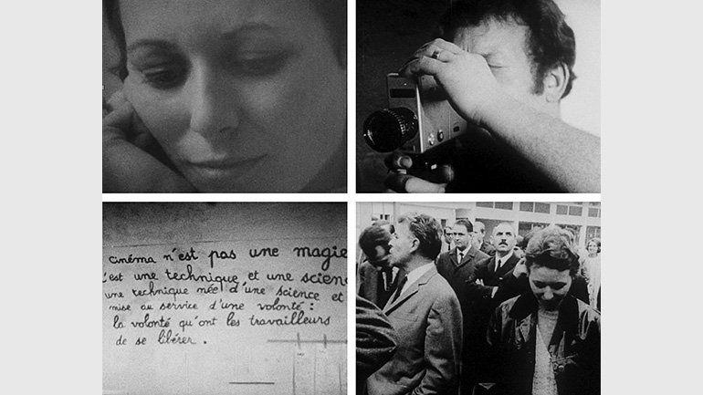 Grupo Medvedkin de Besançon. 'Classe de lutte' ('Clase de lucha'), Película. 1968