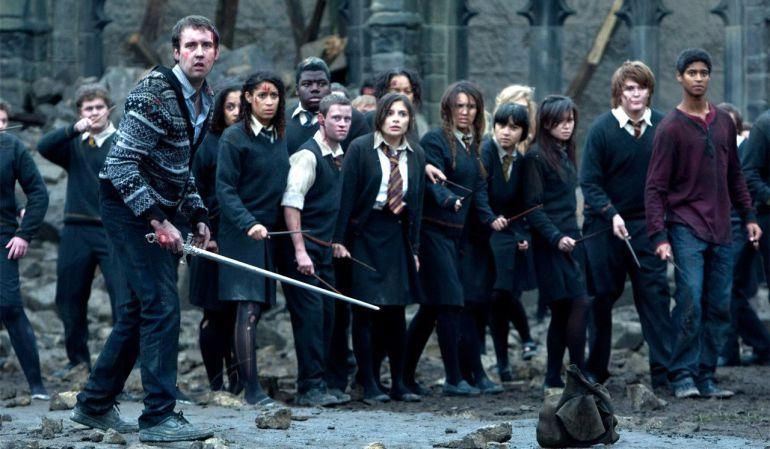 La batalla final de 'Harry Potter'.