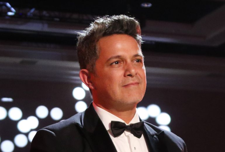 "Alejandro Sanz en la ""Person of the Year Gala""."