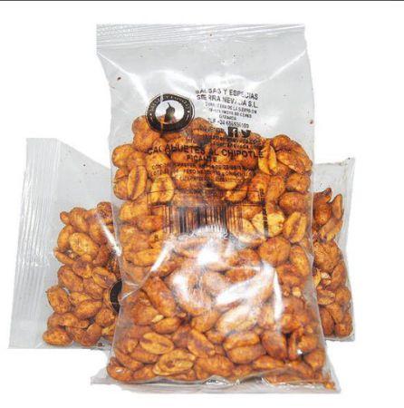 Cacahuetes picantes.