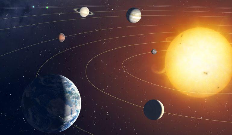 Así es como Venus y Júpiter alteran el clima de la Tierra.