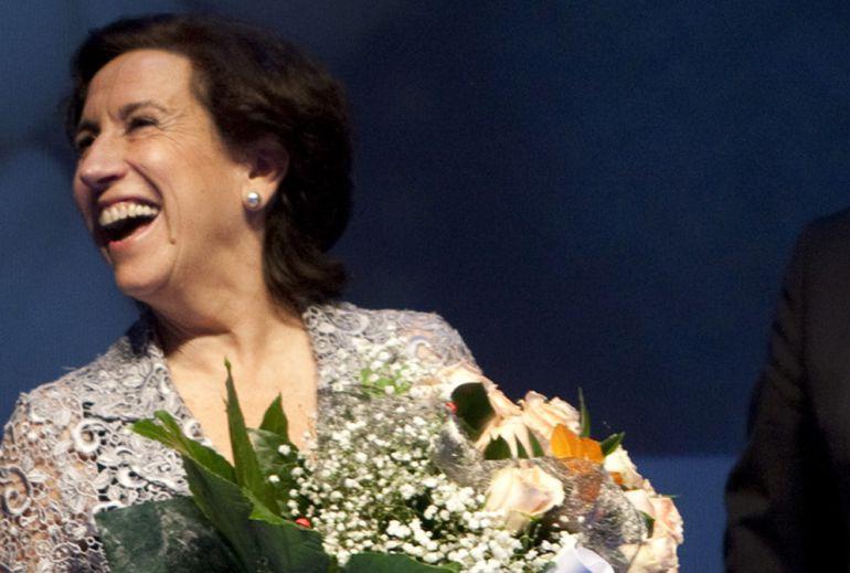 La periodista Victoria Prego, en una fotografía de archivo.