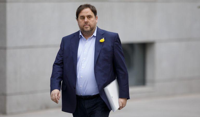 El exvicepresidente de la Generalitat, Oriol Junqueras.