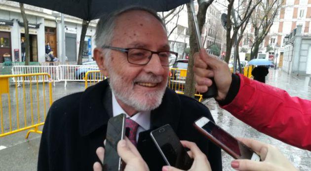 Celdrán, expresidente del PP de Cartagena, tras testificar en el Supremo