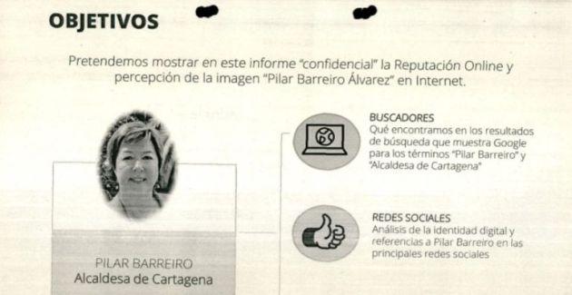 Informe sobre la reputación online de Barreiro, en el sumario