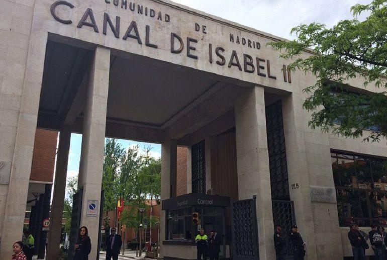 Edificio del Canal de Isabel II.