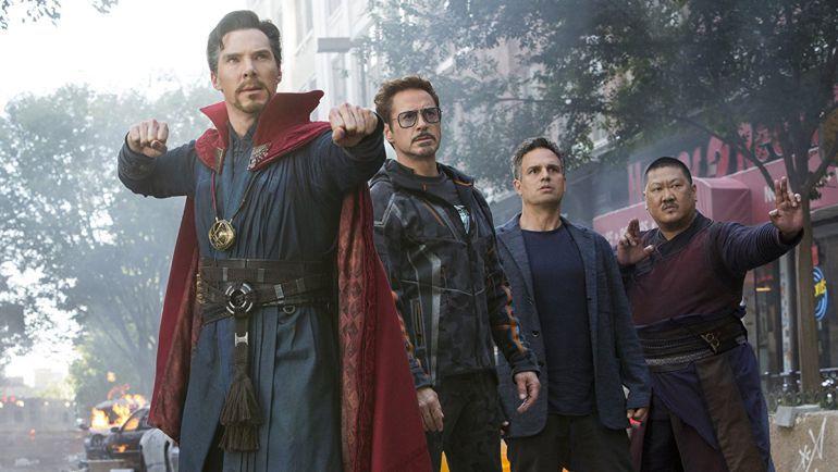 Fragmento de la película 'Los Vengadores:Infinity War'.