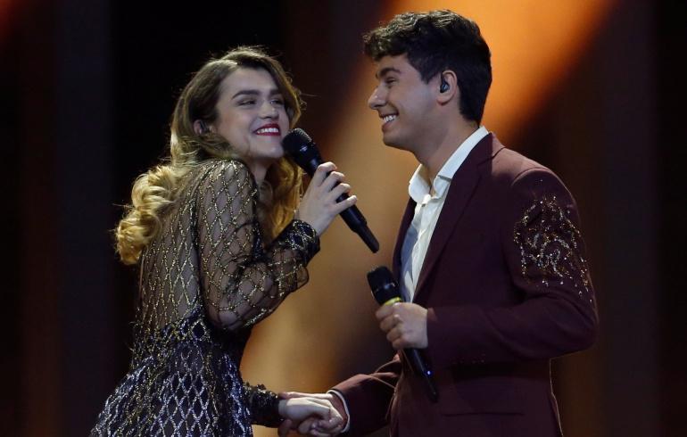 Imagen de la actuación de 'Almaia'