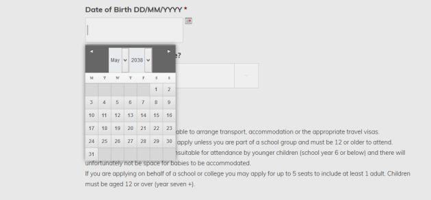 La fundación permite registrarse a los nacidos en el futuro.