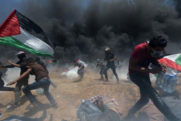 FOTOGALERÍA | Israel reprime con fuego las protestas en Gaza
