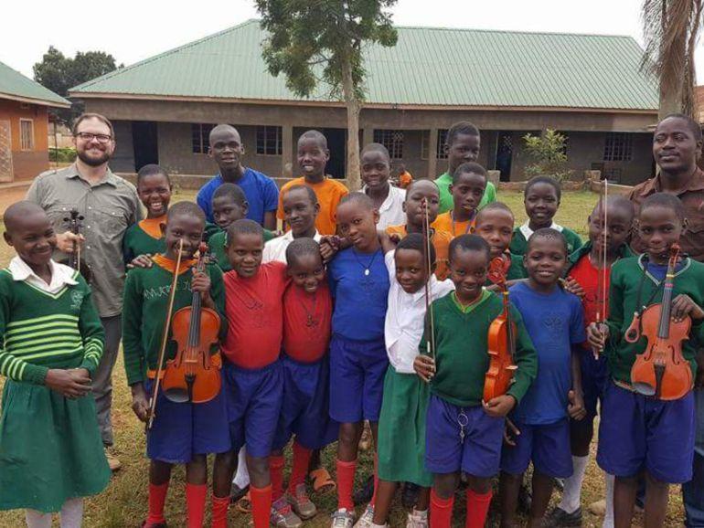 El orfanato Saint Mary Kevin en Uganda