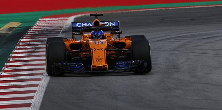 Fernando Alonso, en el GP de España.