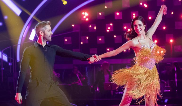 Roberto Leal y Rocío Muñoz, presentadores de 'Bailando con las estrellas'