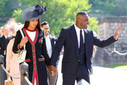 Idris Elba y Sabrina Dhowre.