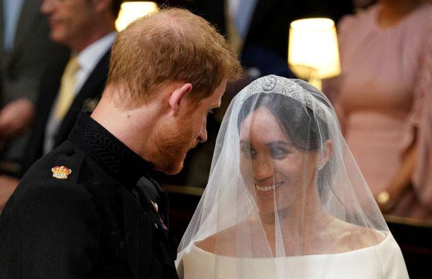 Las fotos del 'sí, quiero' entre el príncipe Harry y Meghan Markle