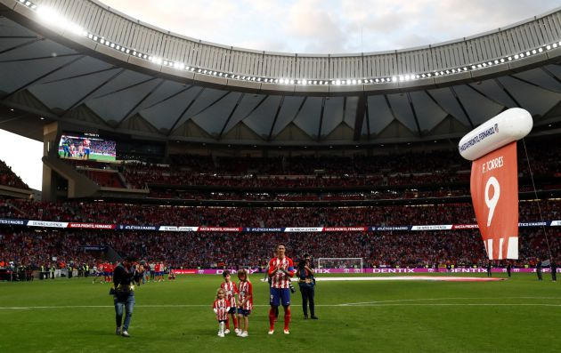 Torres, gran protagonista del Atlético - Eibar