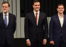 Rajoy, Sánchez y Rivera están de acuerdo en mantener el 155