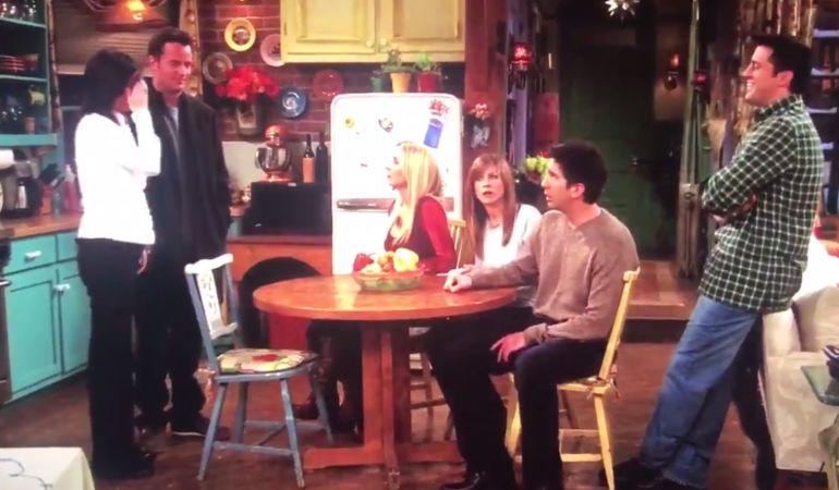 La escena de Friends que ha causado sensación en las redes sociales.