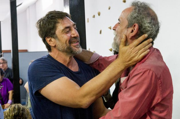 Javier Bardem y Willy Toledo