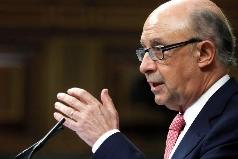 El ministro de Hacienda y Administraciones Públicas, Cristobal Montoro. EFE