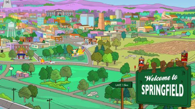 Springfield está inspirado en el Springfield de Oregon.