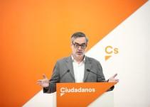 Ciudadanos exige a Rajoy la convocatoria inmediata de elecciones generales