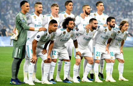 El once del Real Madrid en Kiev