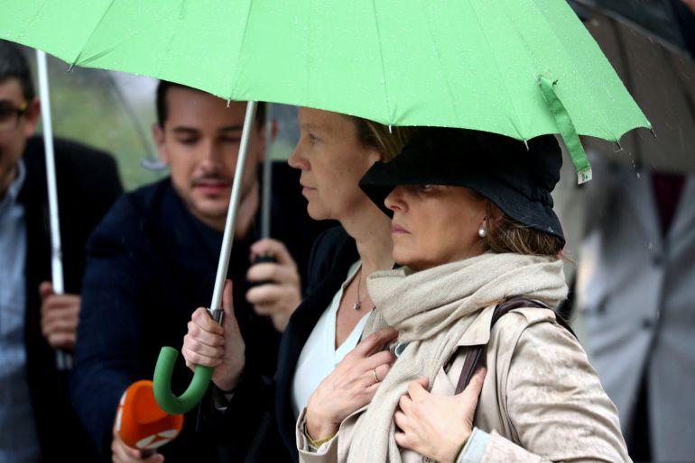 Rosalia Iglesias, esposa del extesorero del PP, Luis Bárcenas