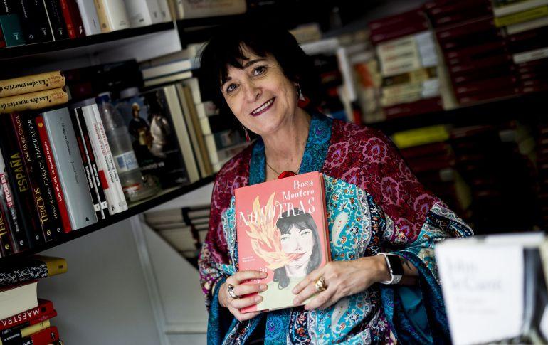 Rosa Montero, en la Feria del Libro de Madrid