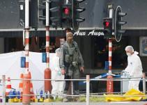 El vídeo del momento en el que fue abatido el terrorista de Lieja