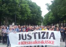 La Audiencia Nacional condena por desórdenes públicos pero no por terrorismo a los agresores de Alsasua