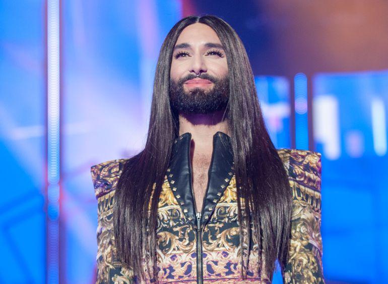 Conchita Wurst cambió su famoso look radicalmente