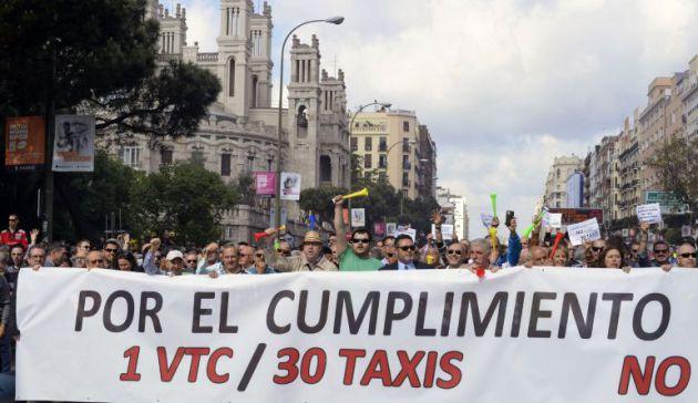 El Supremo avala la proporción de 30 taxis por cada VTC