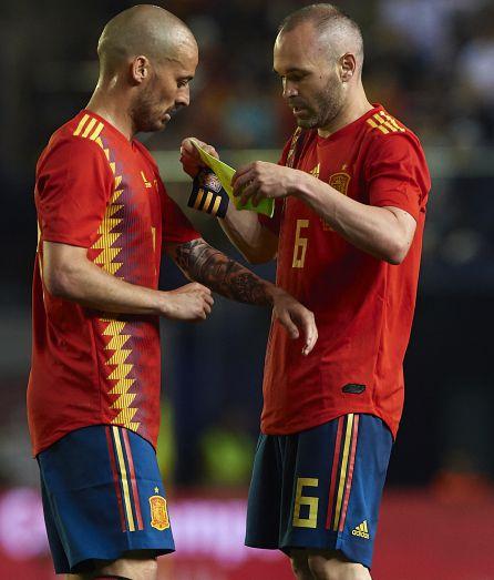 Gran parte del juego de España en el Mundial pasará por las botas de David Silva y Andrés Iniesta.