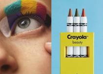 Las ceras 'Crayola' pasan del papel a la piel