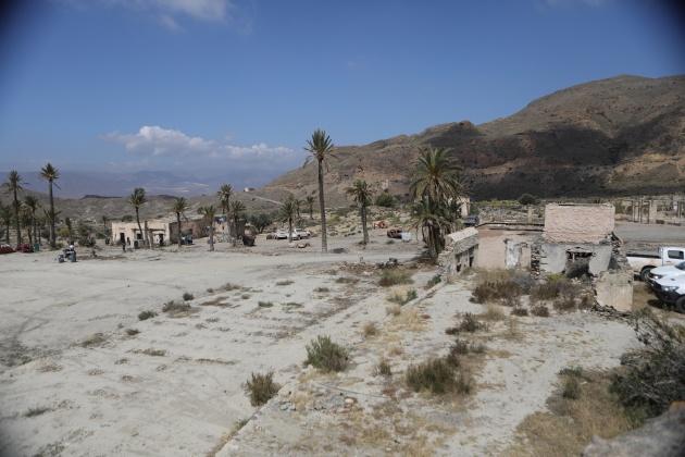 El paraje de El Chorrillo, plató natural en Almería