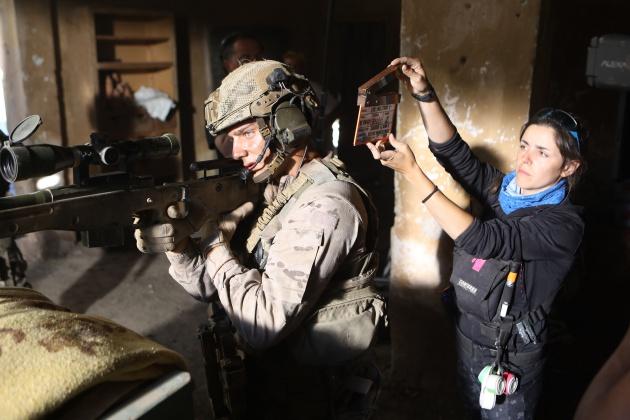 Joel Bosqued, un tirador de precisión de la unidad paracaidista en 'Los nuestros 2'