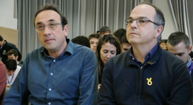 Josep Rull y Jordi Turull en una imagen de archivo
