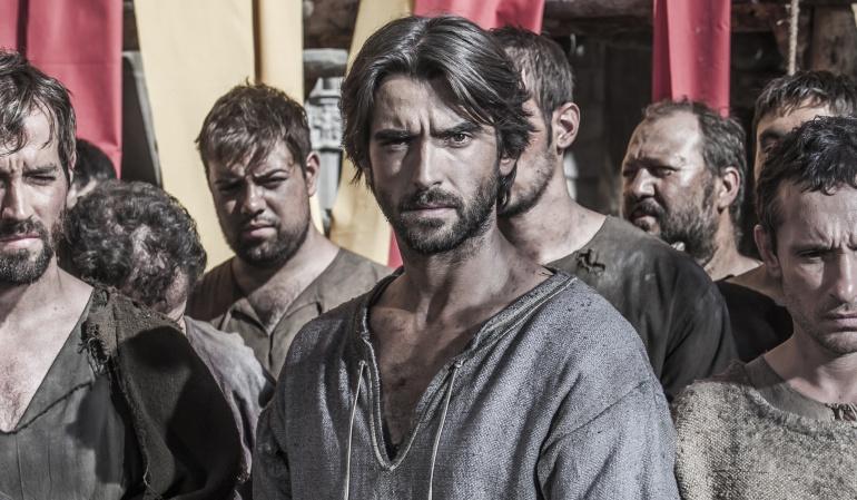 Aitor Luna se incorpora a 'La catedral del mar' en su tercer episodio