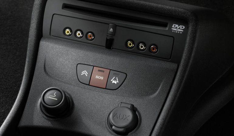 Sistema de llamada de emergencia de Citroën (eCall)
