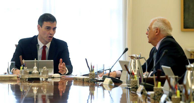 El jefe del Ejecutivo, Pedro Sánchez.