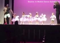 El vídeo viral del padre ejemplar que sale a bailar ballet con su hija que no paraba de llorar