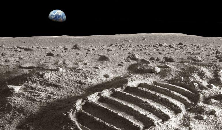 Así afectó la huella del hombre a la superficie lunar.
