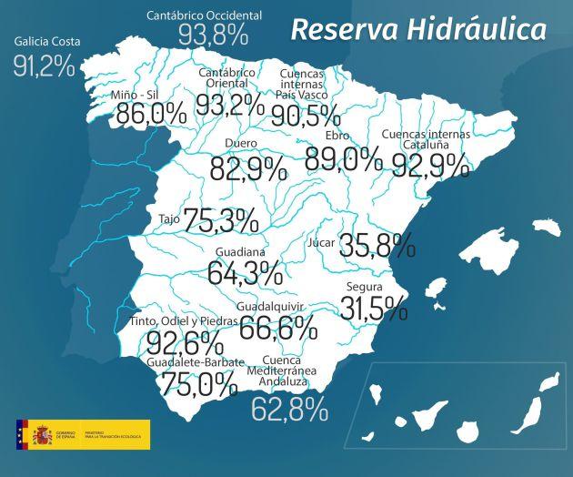 Aemet ironiza sobre las lluvias y una parte de España se indigna