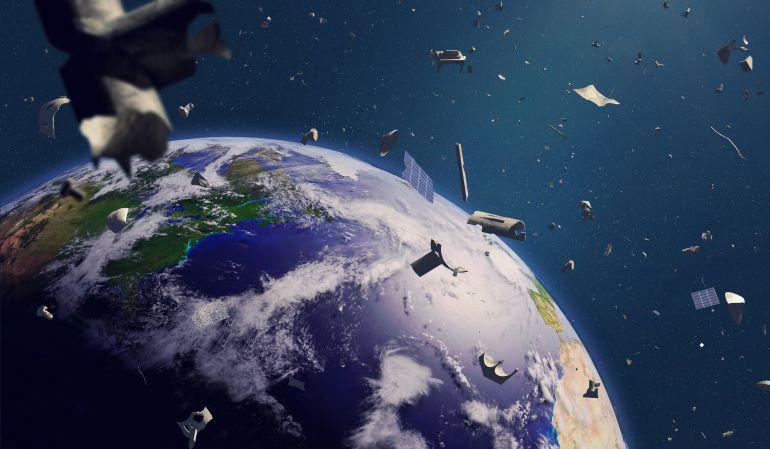 La solución rusa para acabar con la basura espacial