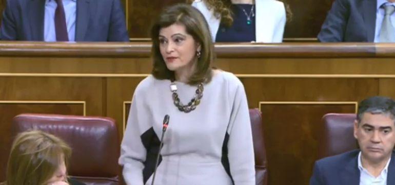 La diputada del PSPV-PSOE en el Congreso, Ana Botella Gómez, 'número dos' de Interior.